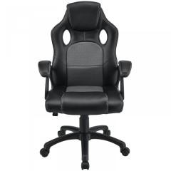 Kancelářská židle Racing design | šedo-černá č.2