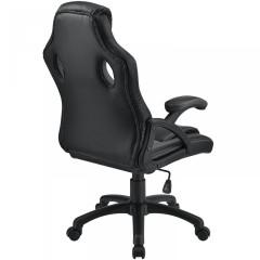 Kancelářská židle Racing design | šedo-černá č.3