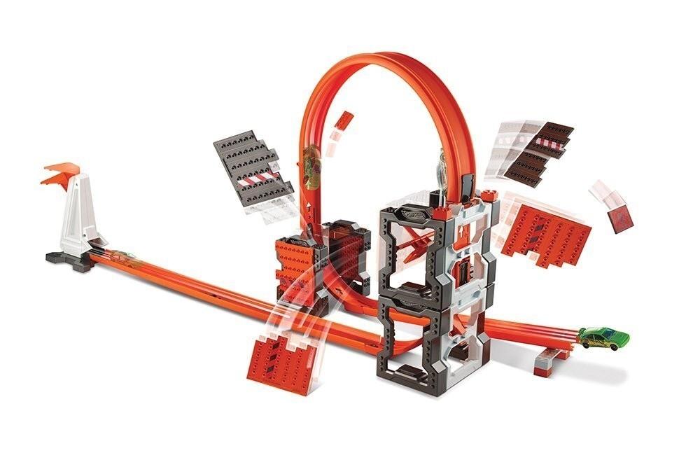 Mattel Hot Wheels Track Builder Bourací set