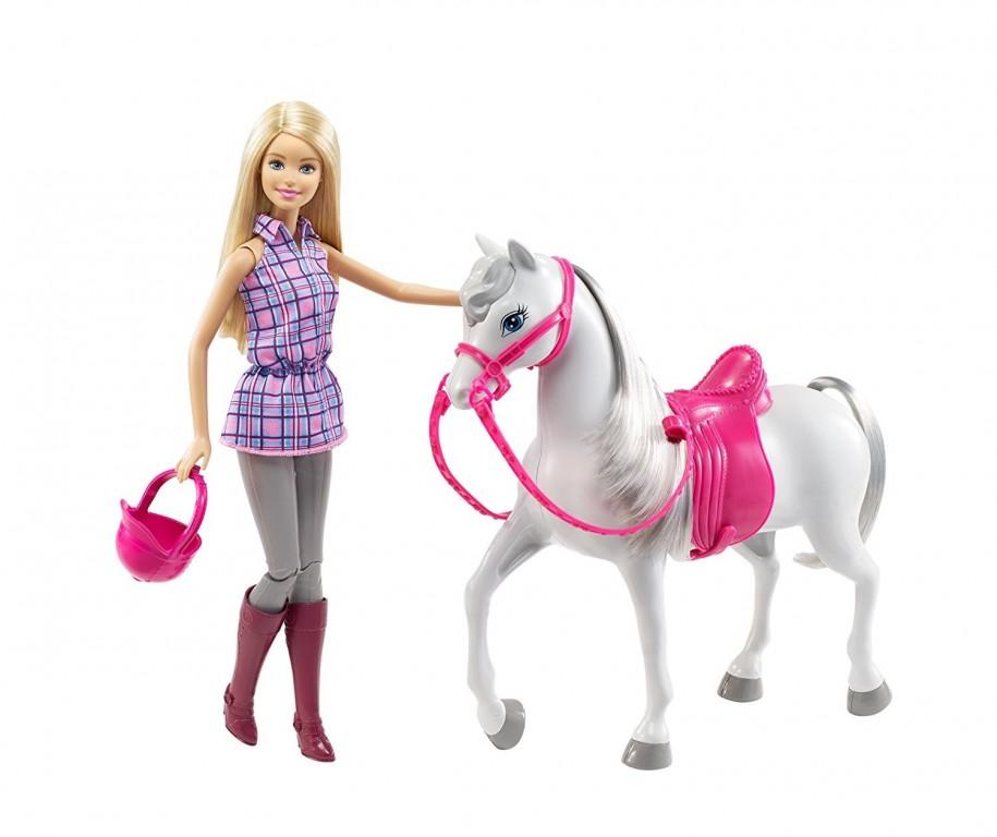 Mattel Barbie s koněm