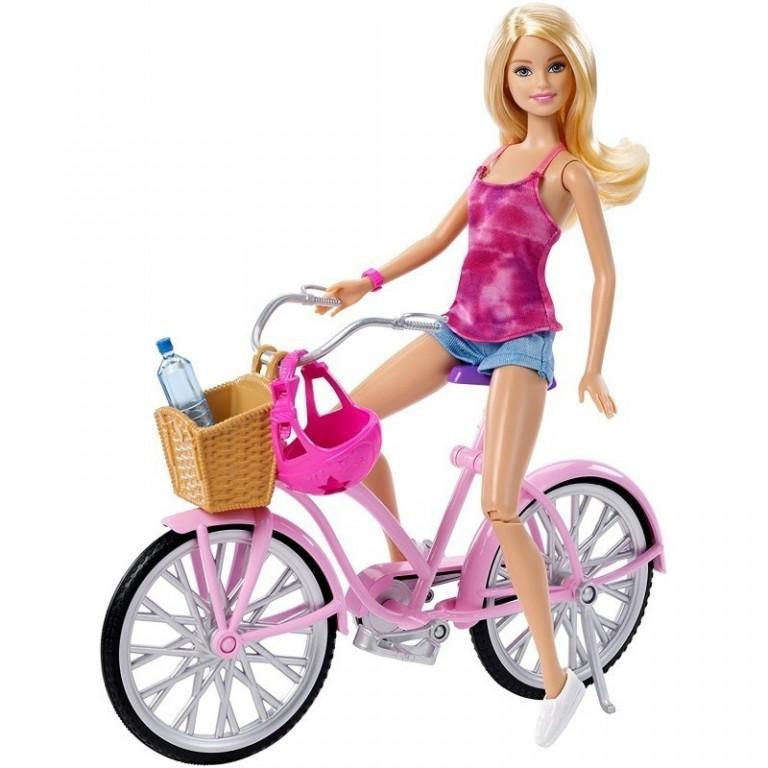 Mattel Barbie na kole