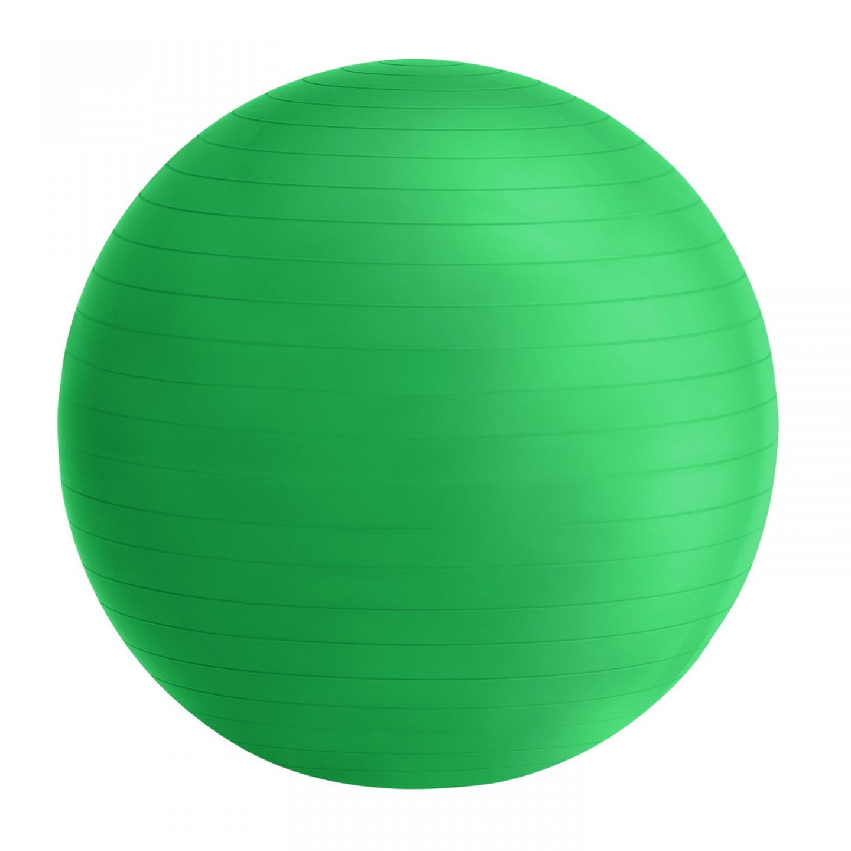 Goleto Gymnastický míč 75 cm s pumpou, zelený
