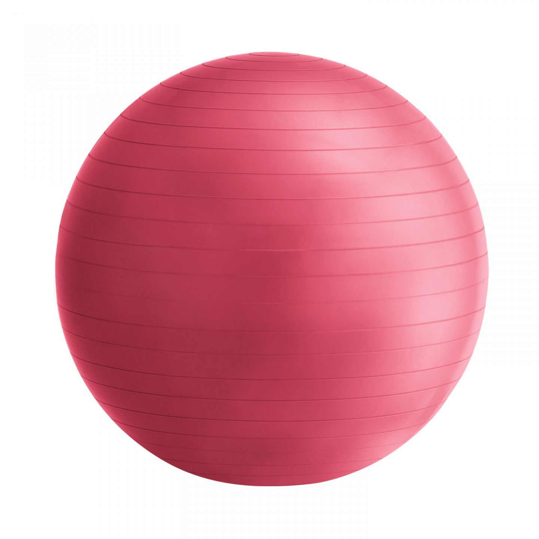 Goleto Gymnastický míč 75 cm s pumpou, červený