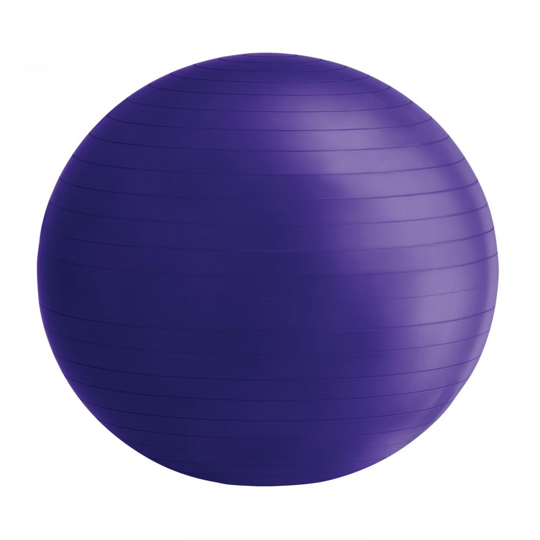 Goleto Gymnastický míč 75 cm s pumpou, fialový