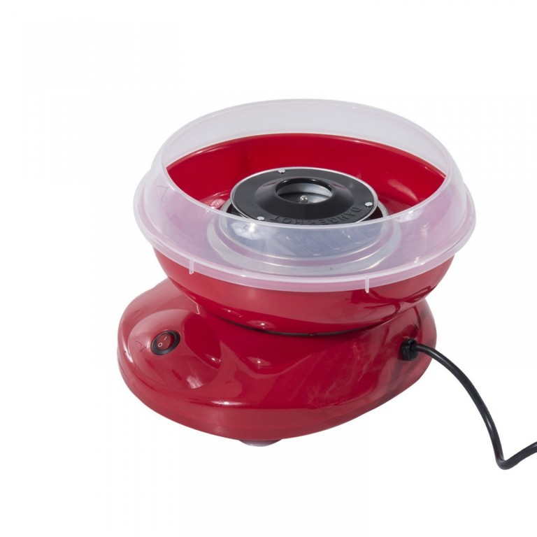 Stroj na výrobu cukrové vaty 450 W | červený
