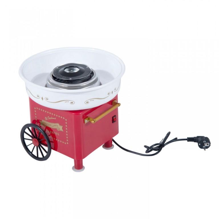 Stroj na cukrovou vatu 450 W | červený