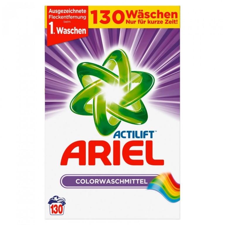 Prací prášek Ariel Actilift Color XXXL 130 pracích dávek - Německo