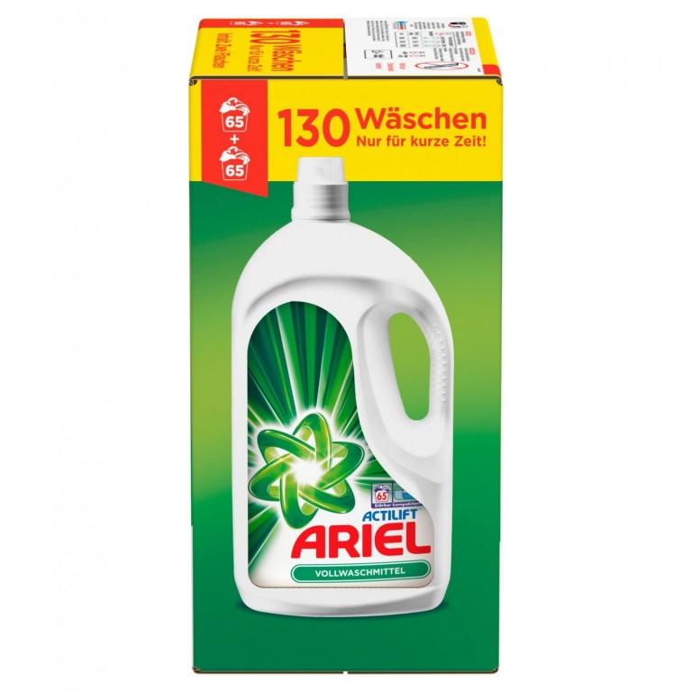 Ariel Actilift gel 130 (2x65) pracích dávek - Německo
