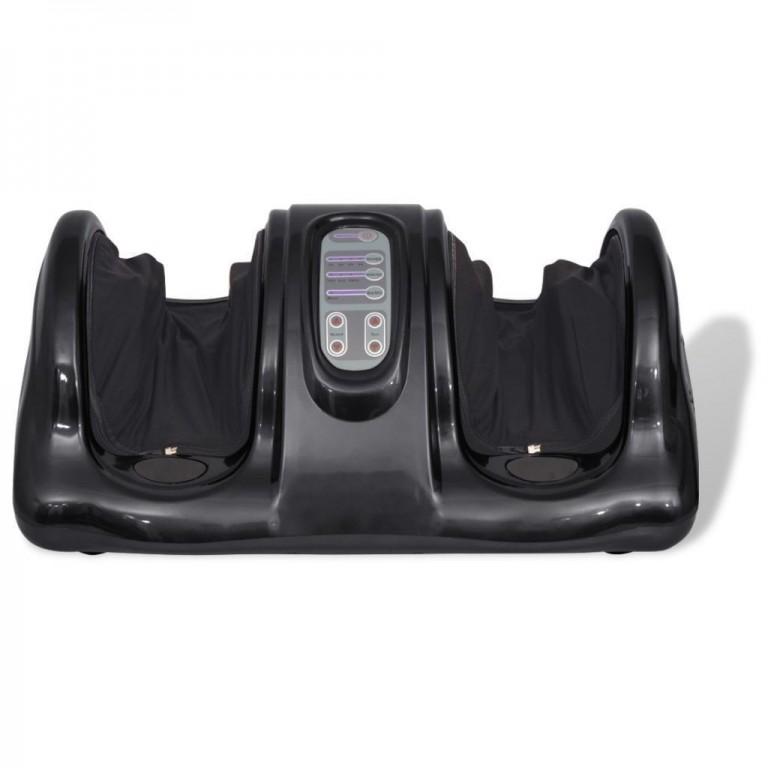 Shiatsu masážní přístroj na nohy, černý