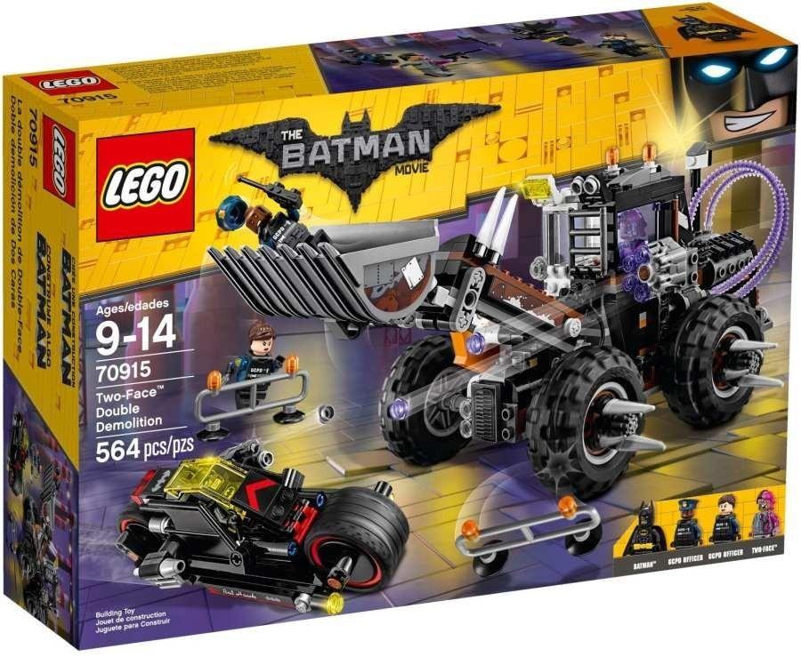 Lego Batman Movie 70915 Dvojitá demolice Two-Face™