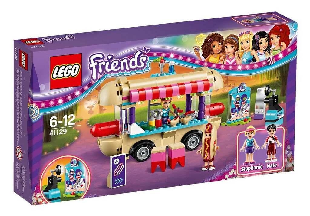 Lego LEGO Friends 41129 Stánek s Hot dogy v zábavním parku