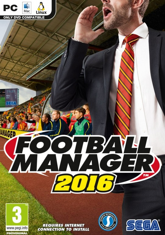 PC hra Football Manager 2016