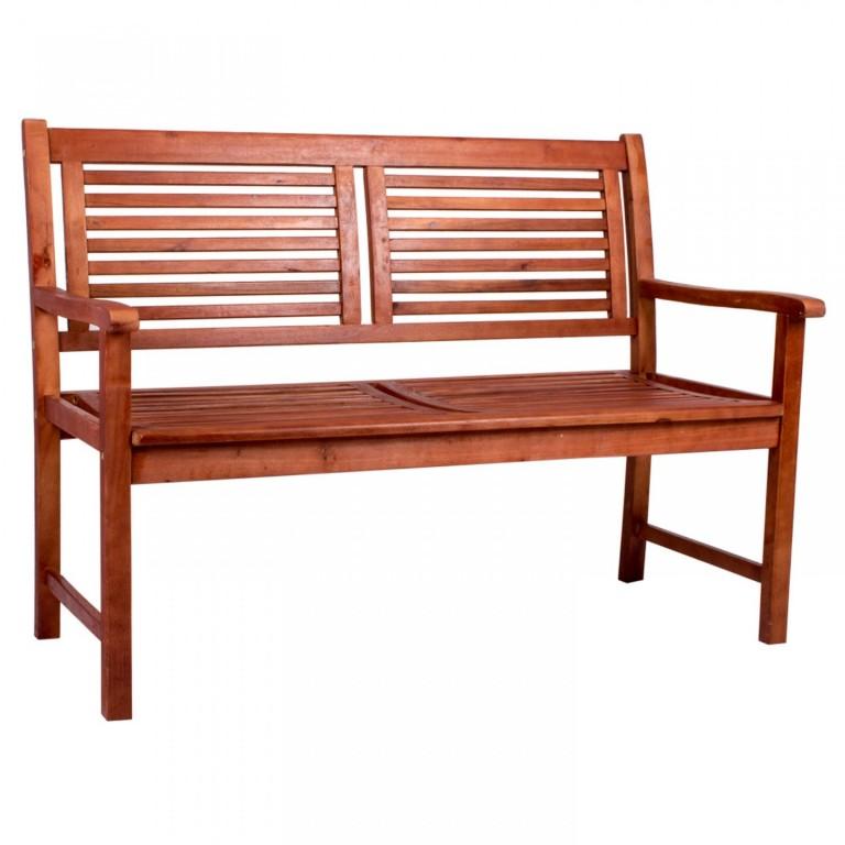 Zahradní lavička Madala | masivní akáciové dřevo