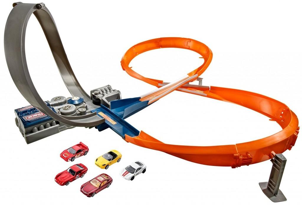 Mattel Hot Wheels Dráha motorizovaná smyčka
