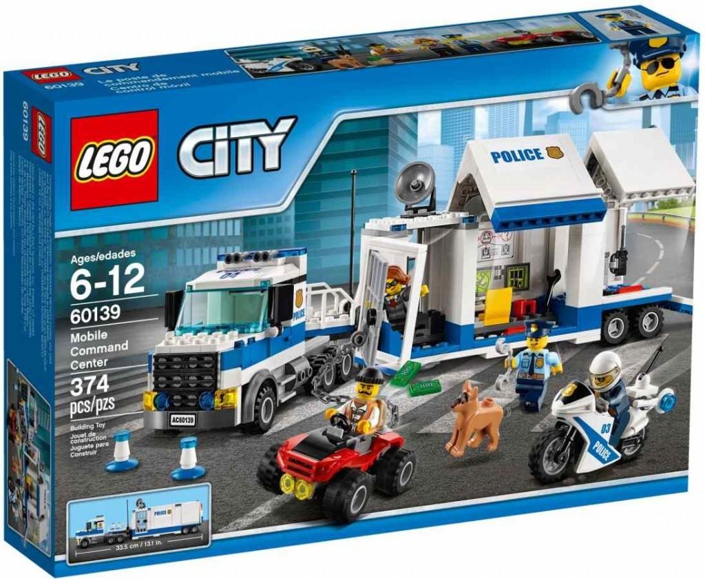 Lego LEGO City 60139 Mobilní velitelské centrum