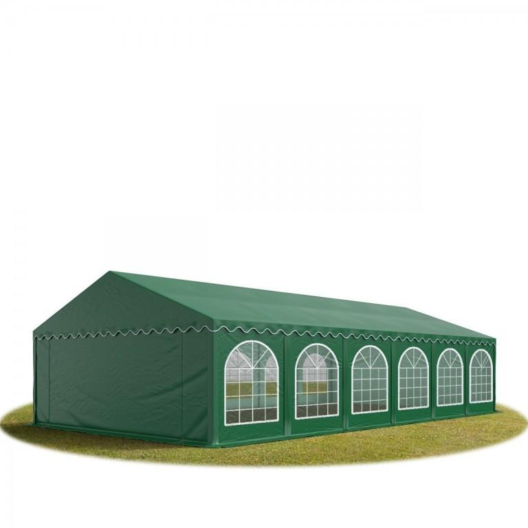 Párty stan Premium 6 x 12 m | tmavě zelený