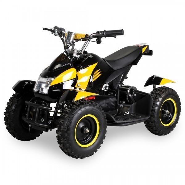 Dětská elektrická čtyřkolka ATV 800 W | žlutá