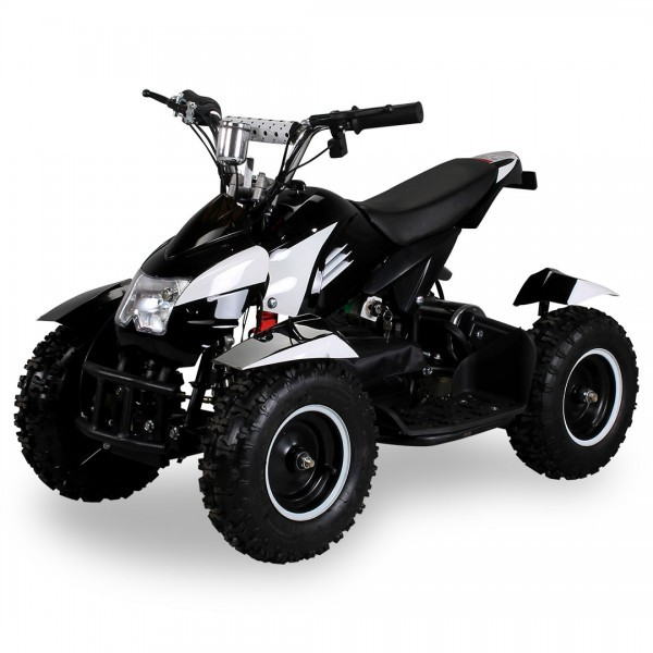 Goleto Dětská elektrická čtyřkolka ATV 800 W | bílá