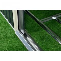 Zahradní domek se základnou XXL 277 x 319 x 192 cm | antracit č.3
