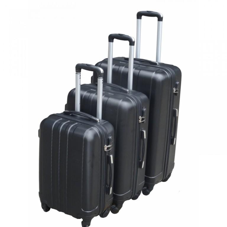 Sada 3 cestovních kufrů | černá