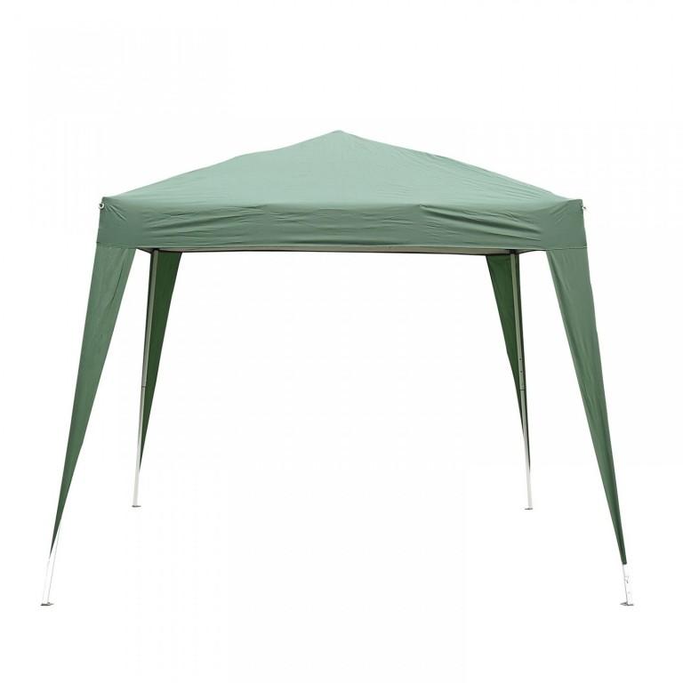 Zahradní párty stan nůžkový 3x3 m | zelený