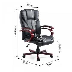 Kancelářská židle Desmond | černá č.8