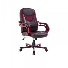 Kancelářská židle Taurus   hnědo-červená č.1