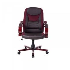Kancelářská židle Taurus   hnědo-červená č.2