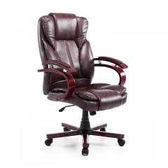Kancelářská židle Desmond | hnědá č.1
