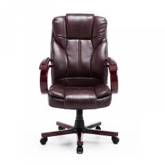 Kancelářská židle Desmond | hnědá č.2