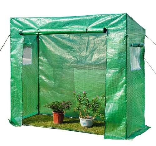 Zahradní foliovník L 200 x 80 x 170 cm | zelený